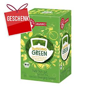 Teekanne Bio Organic Grün Tee Swingig, 20 Portionen