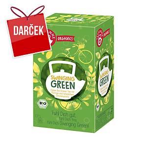 Čaj Teekanne Bio Organics, zelený, 20 porcií