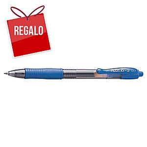 Bolígrafo retráctil de gel Pilot G-2 - azul