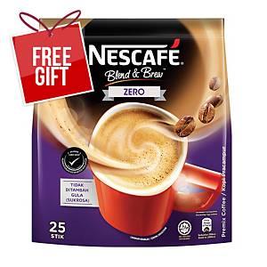 Nescafe Blend & Brew Zero 12g - Pack of 25