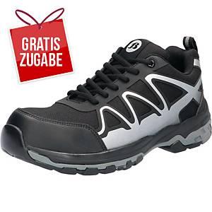 Sicherheitsschuhe BATA Firm 714-66413, S3 SRA, Größe 37, schwarz/grau