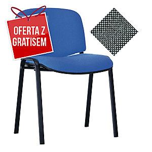 Krzesło NOWY STYL Entero, czarno-szare