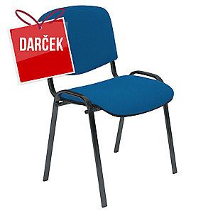 Konferenčná stolička Nowy Styl Entero, modrá