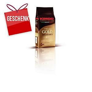 Kimbo Aroma Gold Bohnenkaffee, 500g