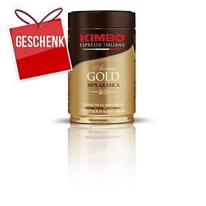 Kimbo Aroma Gold gemahlener Kaffee, 250g