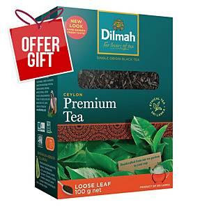 DILMAH PREMIUM LEAF TEA 100G
