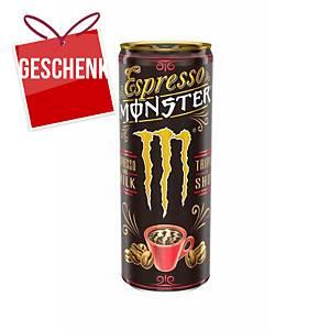 Monster Espresso und Milch Eiskaffee 0,25 l