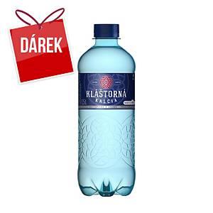 Minerální voda Kláštorná Kalcia perlivá, 0,5 l, 12 kusů