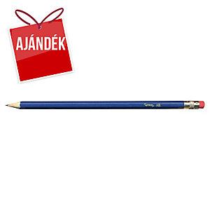 Lyreco HB ceruza radírgumival, 12 darab/csomag