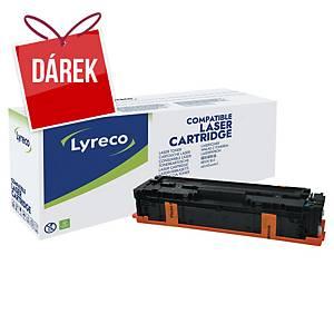 LYRECO kompatibilní laserový toner HP 203X (CF541X) cyan