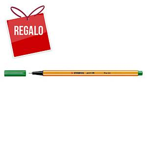 Rotulador Stabilo Point 88 - verde