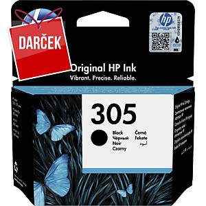 HP atramentová kazeta 305 (3YM61AE), čierna