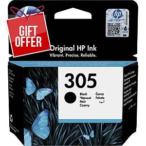 HP ink cartridge 305 (3YM61AE), black