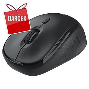 Bezdrôtová optická myš Trust TM-200, čierna