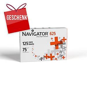 Navigator Papier, A4, 75 g/m², weiss, 625 Blatt