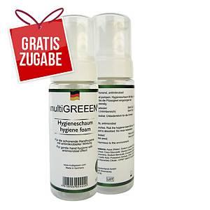 multiGREEEN® Handhygieneschaum antimikrobiell wirksam, ohne Alkohol, 150 ml