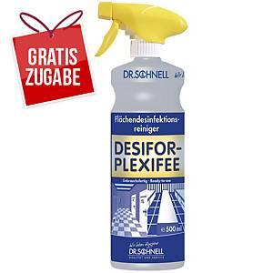 Flächendesinfektionsmittel Dr. Schnell Desifor Plexifee, 500 ml