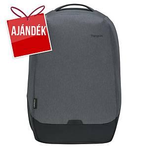 Targus Cypress Security EcoSmart® 15,6  laptophátizsák, szürke/fekete