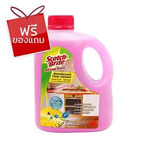 SCOTCH-BRITE น้ำยาทำความสะอาดพื้น กลิ่นโรแมนติกโรส 1000 มล.