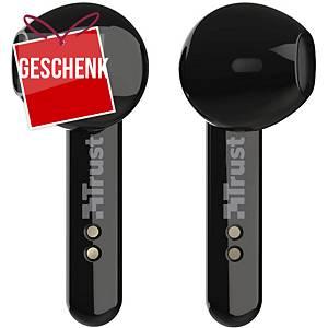Trust Primo Touch kabellose In-Ohr-Kopfhörer, Bluetooth, schwarz