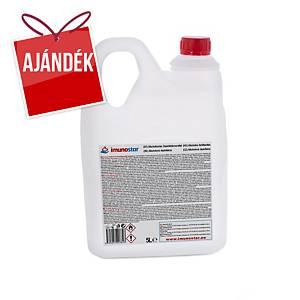 folyékony felület- és kézfertőtlenítő, alkoholos, 5000 ml