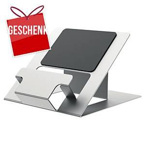 Fellowes Hylyft Laptopständer zusammenklappbar, max. 4 kg, verstellbar