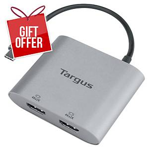 Targus USB-C Dual Video Adaptor