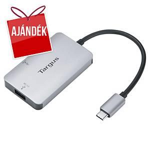 Targus USB-C elosztó, 3 port, HDMI + USB-A + USB-C