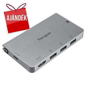 Targus USB-C elosztó, 4 port, HDMI + USB-A + SD/microSD