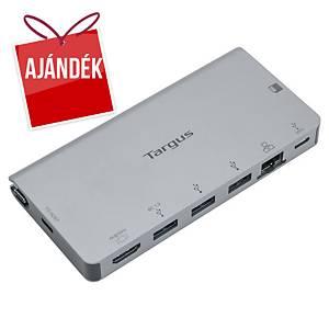 Targus USB-C dokkoló állomás, 6 port + SD/microSD kártyaolvasó