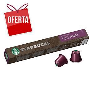 Pack de 10 cápsulas de café Starbucks - Espresso Verona