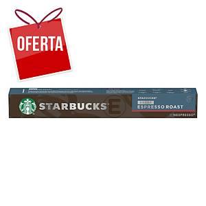 Pack de 10 cápsulas de café Starbucks - Espresso descafeinado