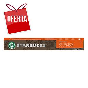 Pack de 10 cápsulas de café Starbucks - Espresso Colombia