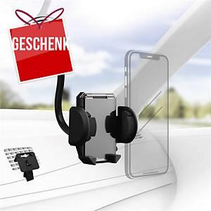 Hama Handyhalterung fürs Auto, 4 – 11 cm, schwarz