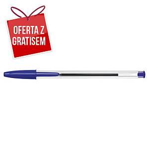 Długopis BIC Cristal, niebieski.