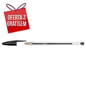 Długopis BIC Cristal, czarny