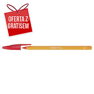 Długopis BIC Orange, czerwony