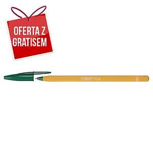 Długopis BIC Orange, zielony