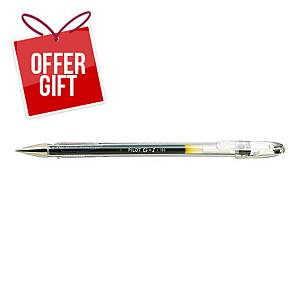 PILOT G1 B/POINT PEN METAL BLK