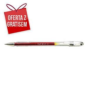 Długopis żelowy PILOT G-1, czerwony