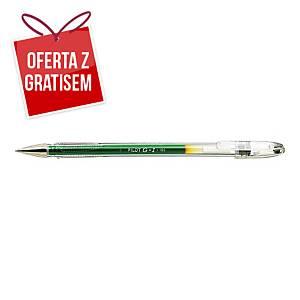 Długopis żelowy PILOT G-1, zielony