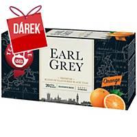 Čaj Teekanne Earl Grey, pomeranč, 20 sáčků à 1,65 g