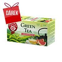 Čaj Teekanne zelený, grep, 20 sáčků à 1,75 g