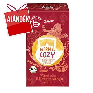 Teekanne Bio Organics tea, melegítő és nyugtató, 20 filter, 1,8 g
