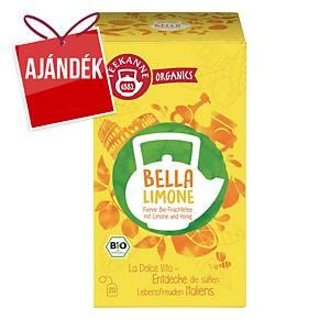 Teekanne Bio Organics tea, friss citrom, 20 filter, á 2,25 g