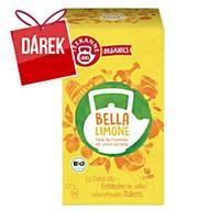 Čaj Teekanne Bio Organics, svěží citron, 20 sáčků à 2,25 g