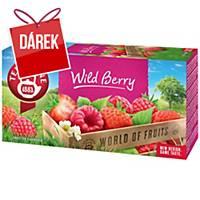 Čaj Teekanne, bobulové ovoce, 20 sáčků à 2,25 g
