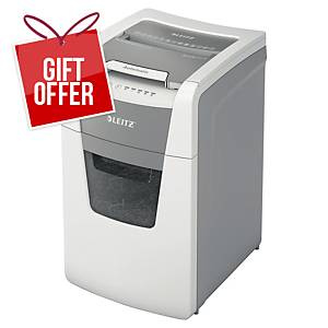 Leitz IQ Autofeed Office 150 Automatic Paper Shredder P5  White