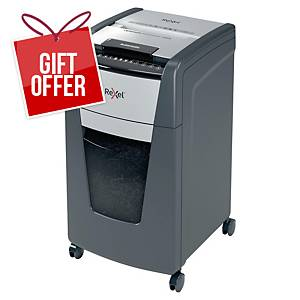 Rexel Optimum AutoFeed+ 300X Automatic Cross Cut Paper Shredder