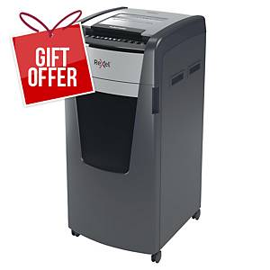 Rexel Optimum AutoFeed+ 750X Automatic Cross Cut Paper Shredder
